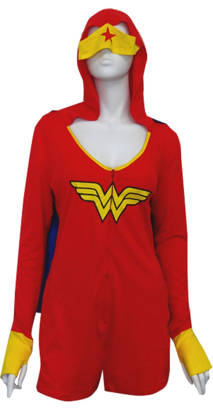 Women's Superhero Pajamas Everyone knows that girls are the real superheroes, which is why our superhero pajamas and lingerie are perfect for the feminine personalities that they are made for. From sweatpants that are buttery soft, onesies and jumpsuits covering you head to toe, to the sexiest of lingerie, our superhero pajamas are bound to put.