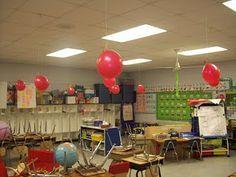 Eerste dagen van het schooljaar: elke ballon bevat een activiteit.