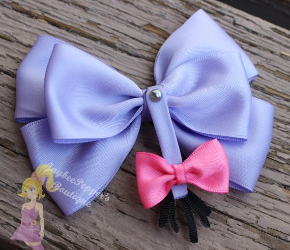 Eeyore hair bow Winnie the Pooh hair bow disney by JaybeePepper