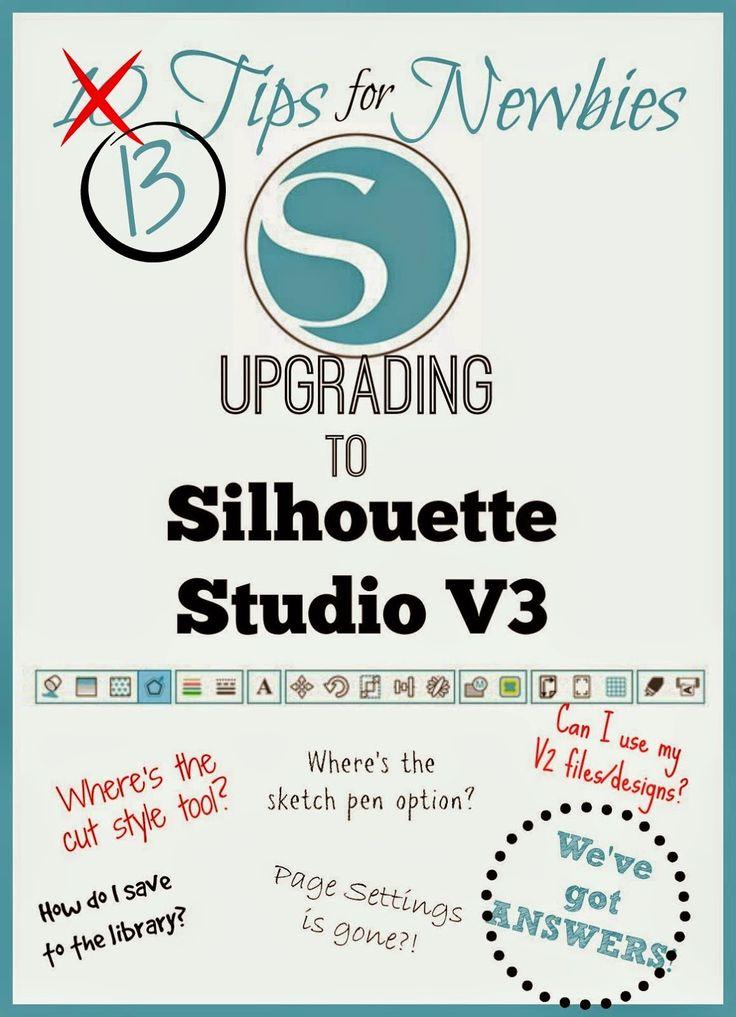 Silhouette School: 10 Tips for Silhouette Studio V3 Newbies