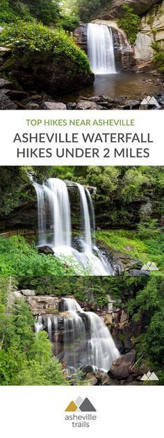 Seven quick Asheville waterfall hikes, two miles or much less