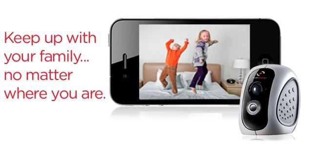 wireless nanny cam, straight to smartphone, http://vuezone.com