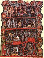 Piekło / Fot. http://commons.wikimedia.org/wiki/File:Hortus_Deliciarum_-_Hell.jpg