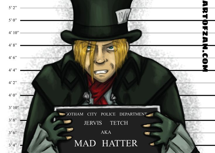 Mad Hatter - Arkham Inmates collection #batman #villain #dccomics | ArtOfZan