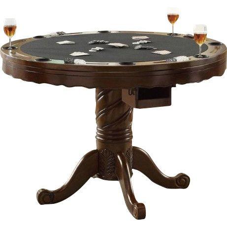 Wildon Home ® Atlantic Poker And Bumper Pool Table