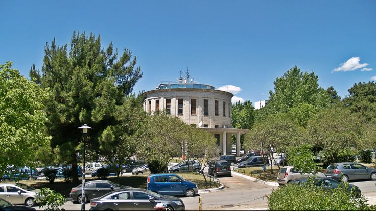 The Weather Observatory is located right in the center of the campus and is one of its oldest buildings. (Walking Thessaloniki - Route 13, Forty Churches)