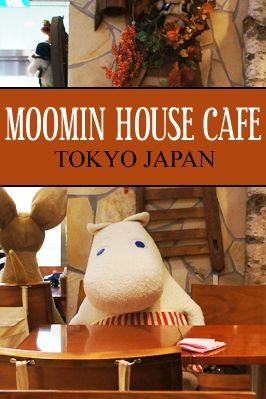 Moomin House Cafe in Tokyo Skytree Japan
