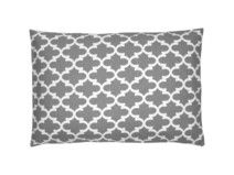 Kissenhülle Fulton grau weiß 40 x 60