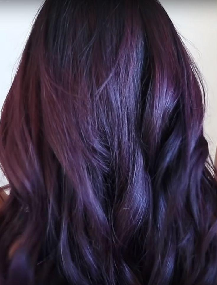 Purple Hair Shampoo Shampoo For Purple Hair Hair Shampoo Dark Hair With Highlights