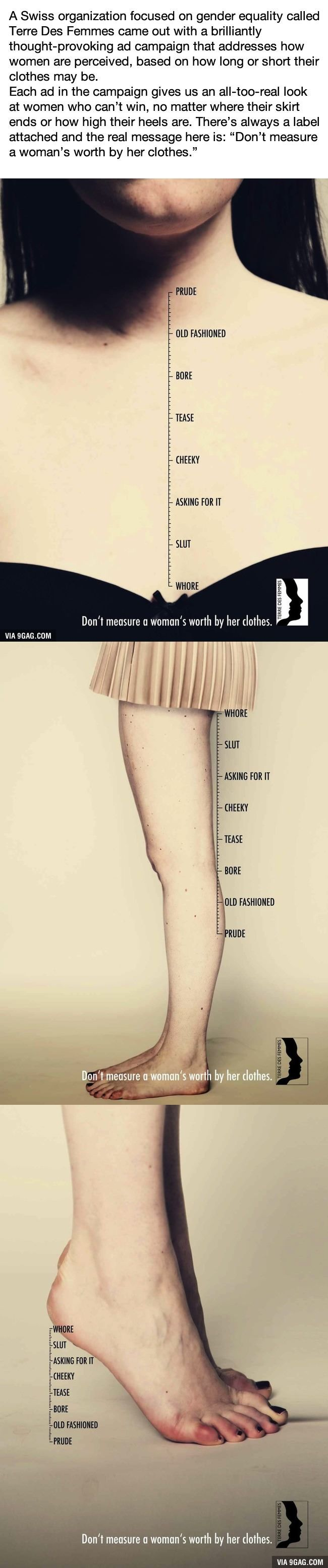 You'll Rethink Judging A Woman By Her Clothes After One Look At This Campaign