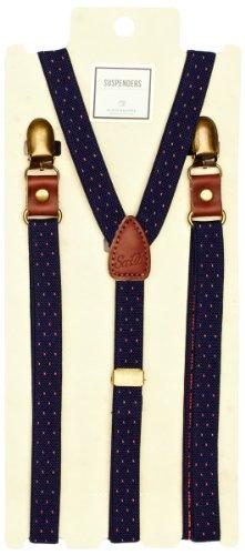 Scotch & Soda Suspender Men's Tie: Amazon.co.uk: Shoes & Accessories