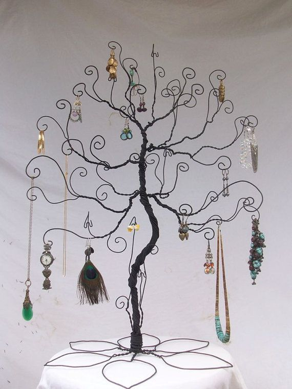 Jewelry Stand Tree Large Wire display PRE di ClaudinesLimited