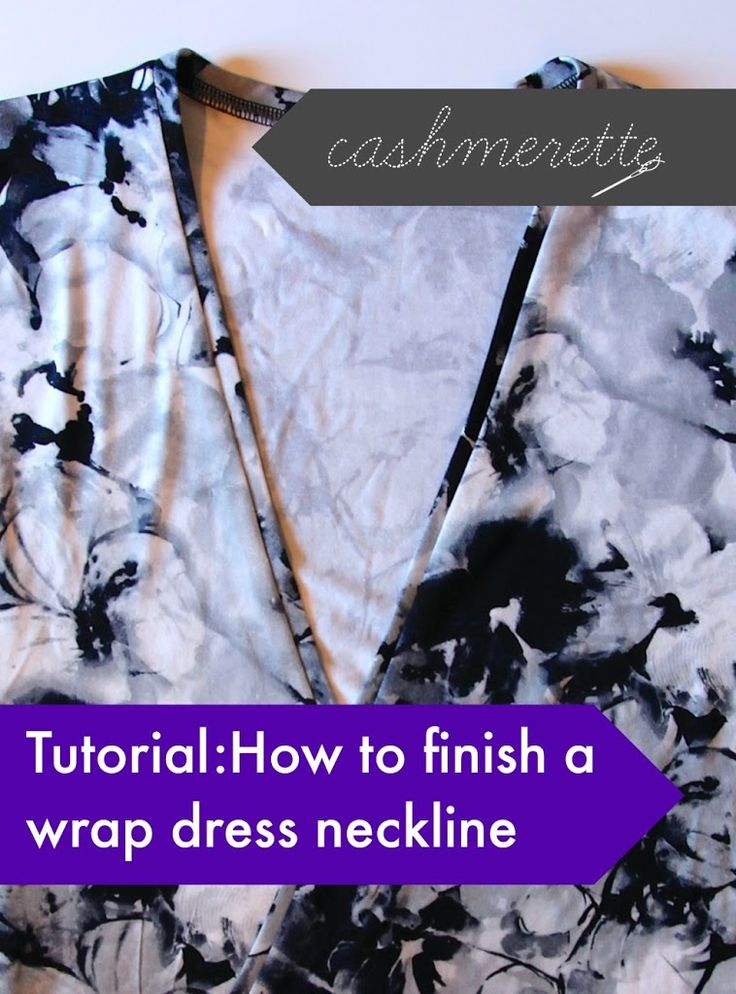 Hi lovelies! I've mentioned in the past that I've found a great way to finish wrap dress necklines and I got some questions about it, so I put together a quick photo tutorial to show you how to do it. Start making your wrap dress by sewing the shoulders. Now, you're ready for the neckband. {...Continue Reading}