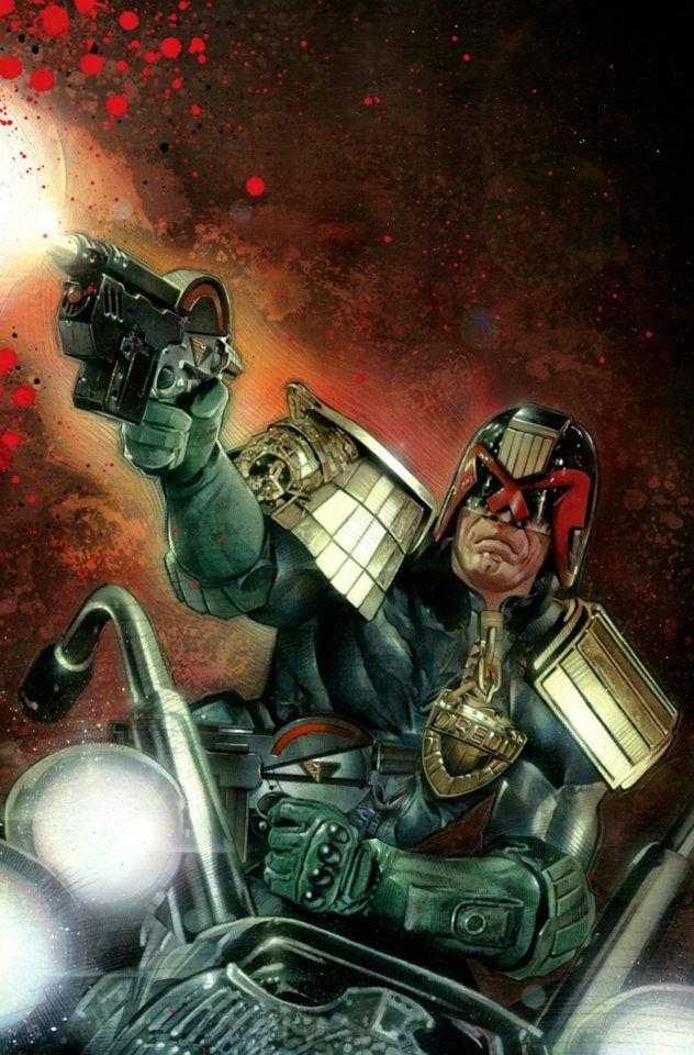 Judge Dredd by Nick Runge