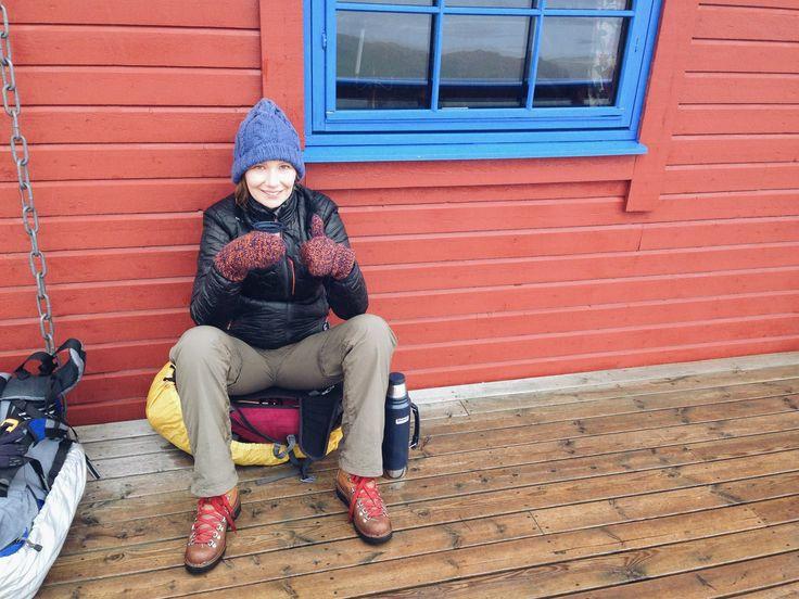 w drodze na Ryten, Lofoty, 2015