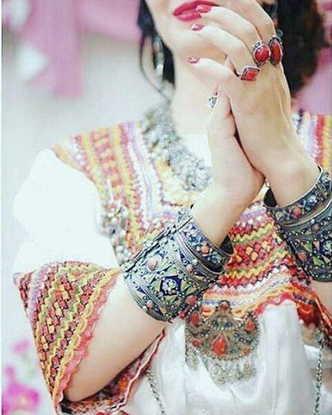 ❤ #kabyle #robekabyle #kabylie #bijouxkabyle #mariagekabyle