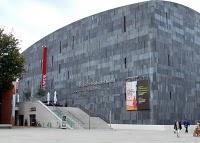 quartier 21 in Vienna's Museum Quartier #vienna #museums #quartier21