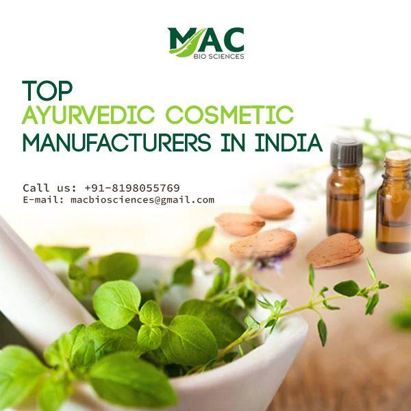 Mac Biosciences is the top ayurvedic cosmetic manufacturers