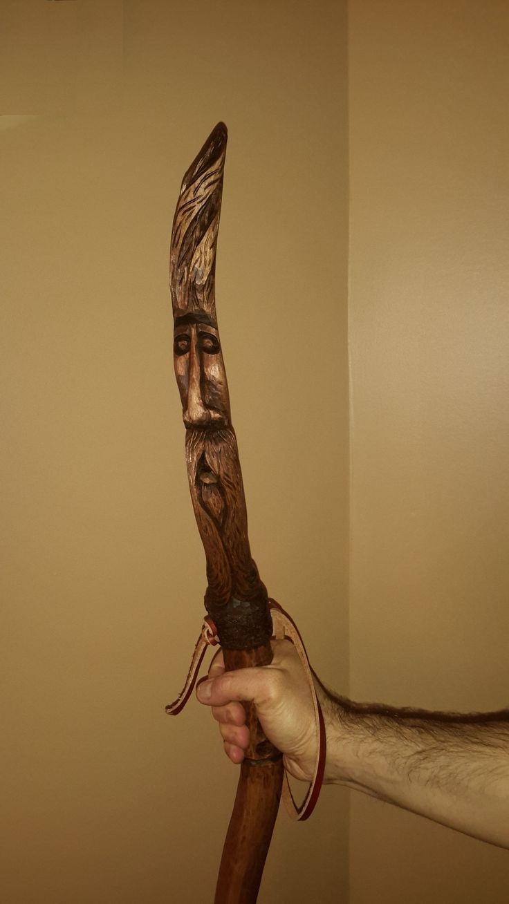 Bâton de marche - Woodspirit - walkingstick