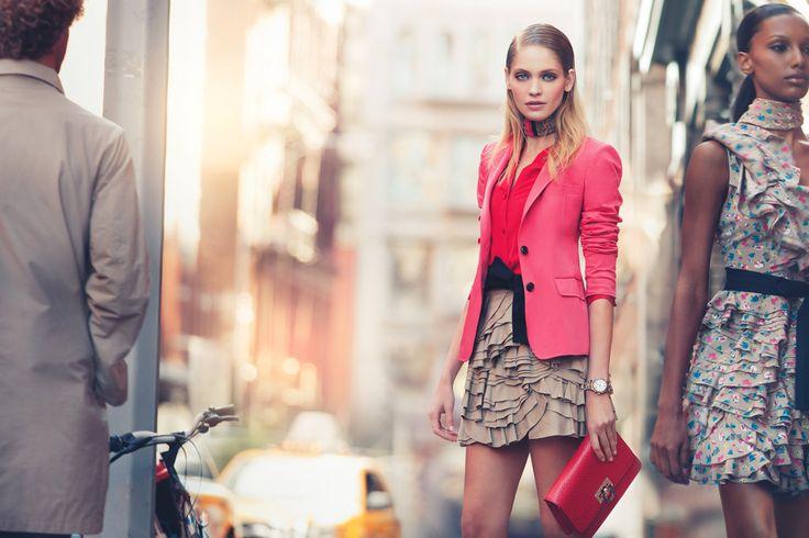 Ad Campaign: DKNY Season: Spring/Summer 2011 Models: Heidi Mount, Kori Richardson & Jasmine Tookes Photographer: Nathaniel Goldberg / Art + Commerce