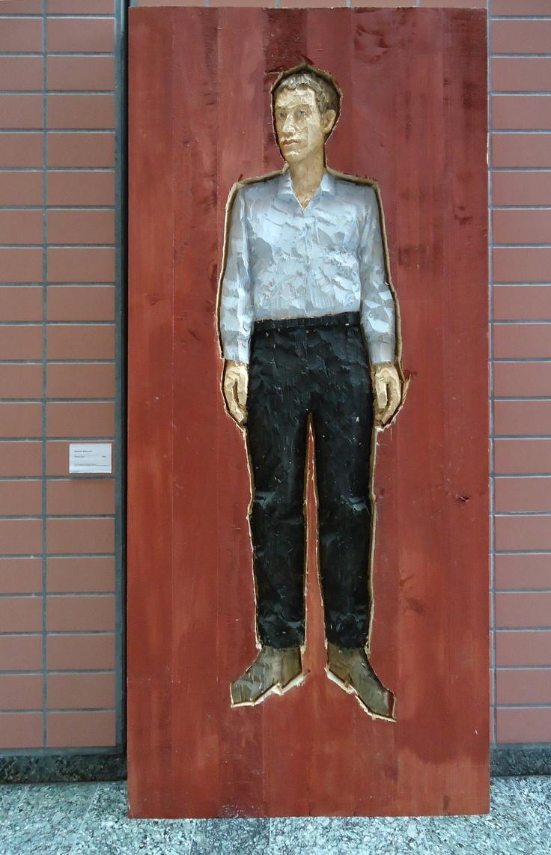 Stephan Balkenhol, Relief Man, 2005