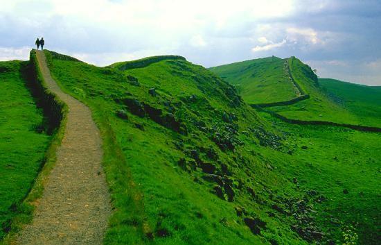 Hadrian's Wall, Northumbria England
