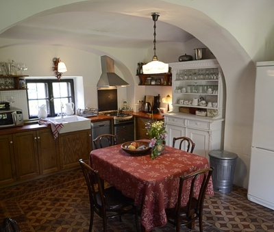 Káli Cottages at Lake Balaton - Kitchen in the Main Cottage
