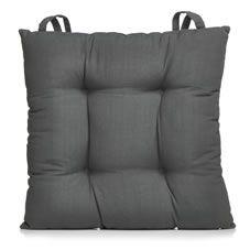 Wilko Utility Grey Seat Pad