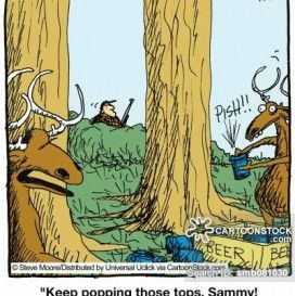 Funny Deer Hunting Cartoons Pic Deer Hunting Humor