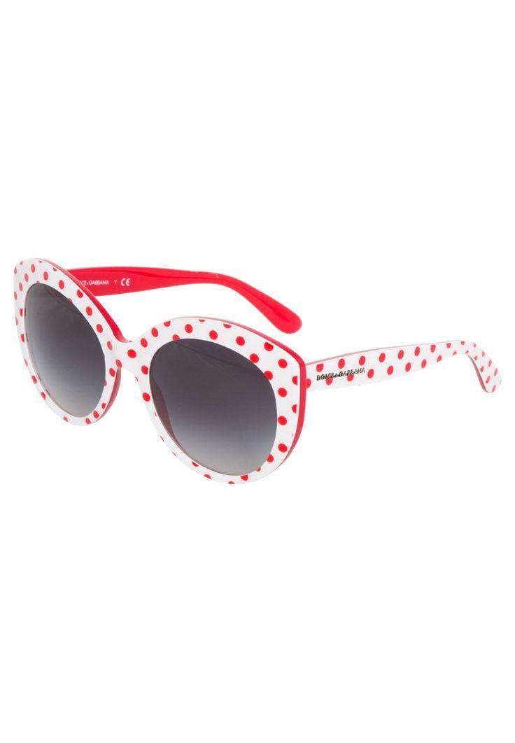 Dolce&Gabbana Okulary przeciwsłoneczne biały