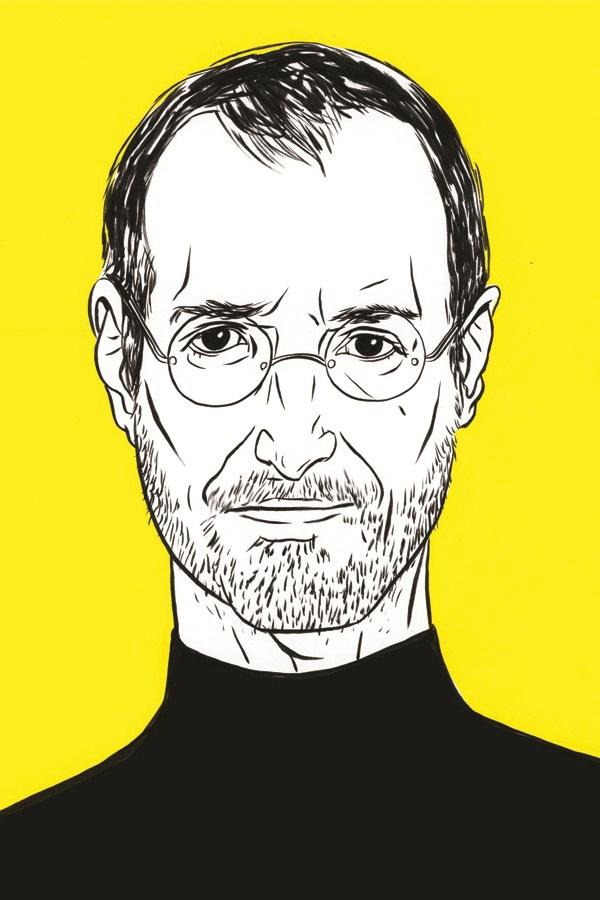 Steve Jobs, 2013 Illustration by Kelsey Dake