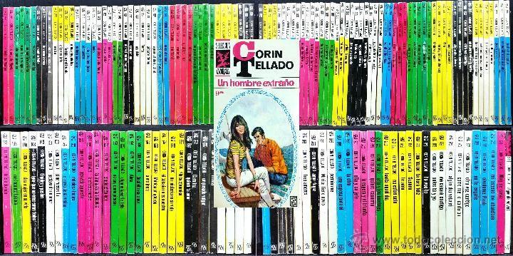 LOTE DE 167 NOVELAS ROMÁNTICAS CORIN TELLADO // SERIE SELECCIÓN CORAL // ED. BRUGUERA // AÑOS 60-70 - Foto 1
