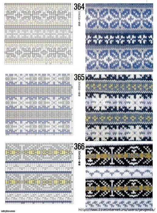 170b4ae866aa (516x700, 307Kb) - fair isle knitting charts