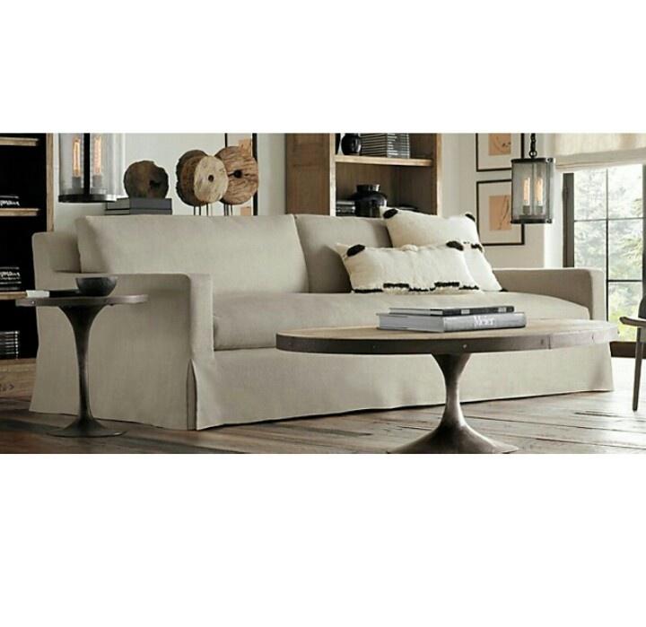 Restoration hardware sofa sofas Pinterest Restoration