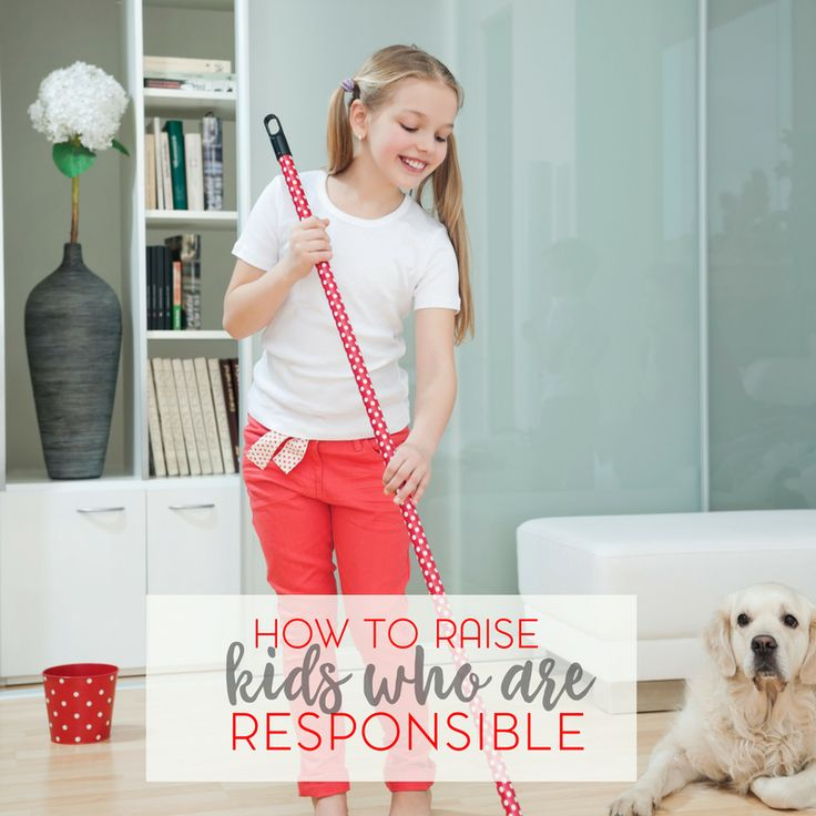 "Are you raising kids who are responsible? For that matter, what does it mean to be responsible? Let's talk about that in our series of ""how to raise kids"""