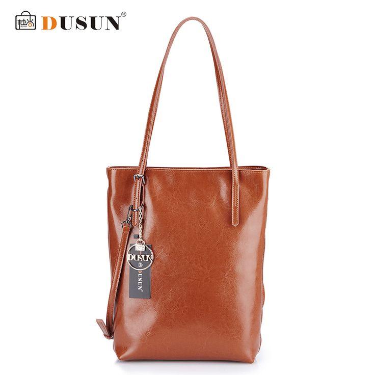 Genuine Leather Handbags Women Bag Retro Shoulder Bag New Women's Large Tote Bags Ladies Casual Design Handbags //Price: $78.73 & FREE Shipping //     #womenbags