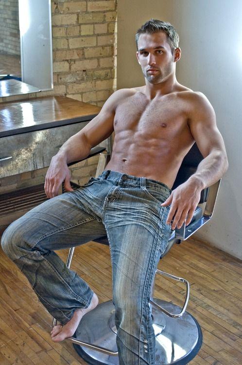 Men Light Blue Skinny Jeans