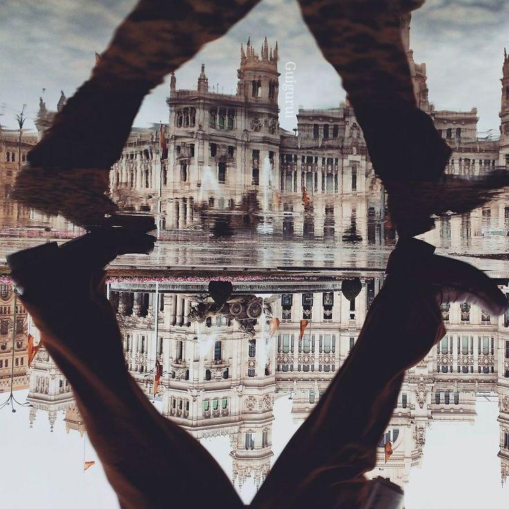 O universo paralelo das poças de água por Guigurui