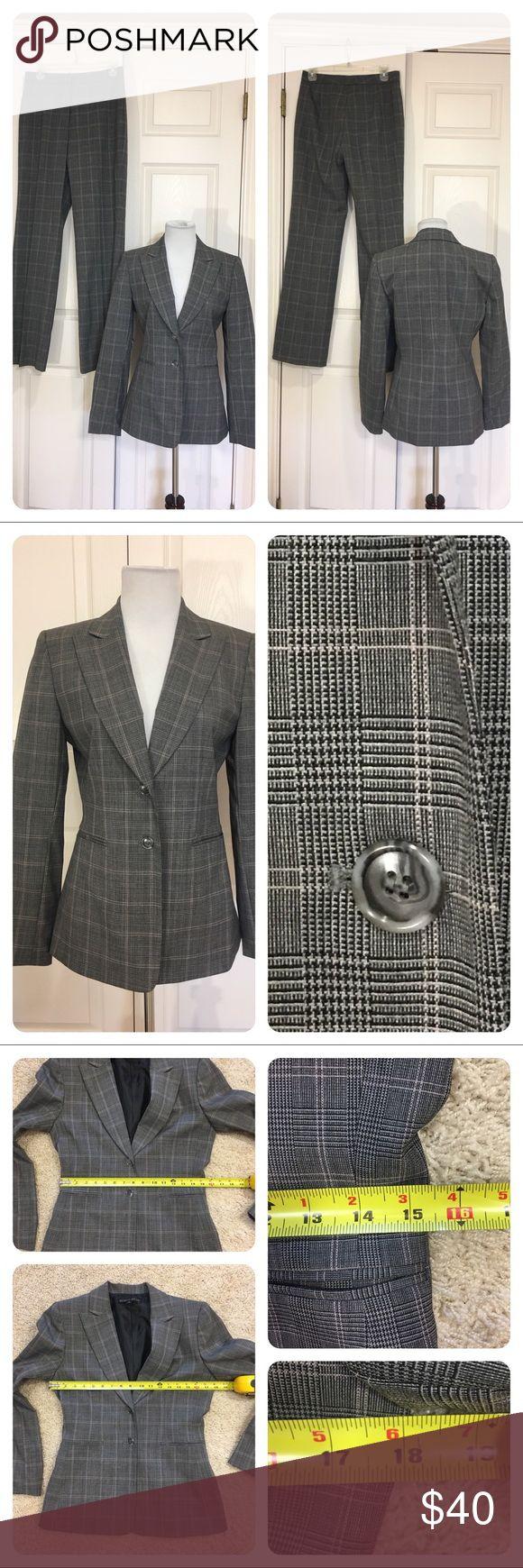 Antonio Melani pant suit Classic plaid pantsuit by Antonio Melani. Great together or as separates. Jacket is a 4. Pants are a 6. ANTONIO MELANI Jackets & Coats Blazers