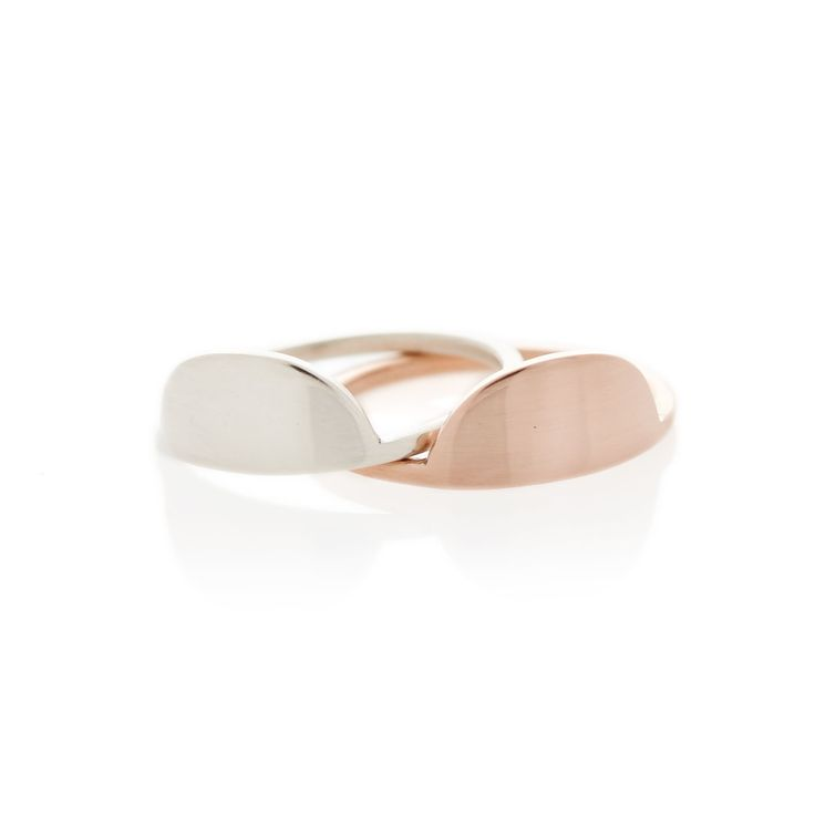 Rose gold Sun and Moon ring | Dear Rae | Online shop