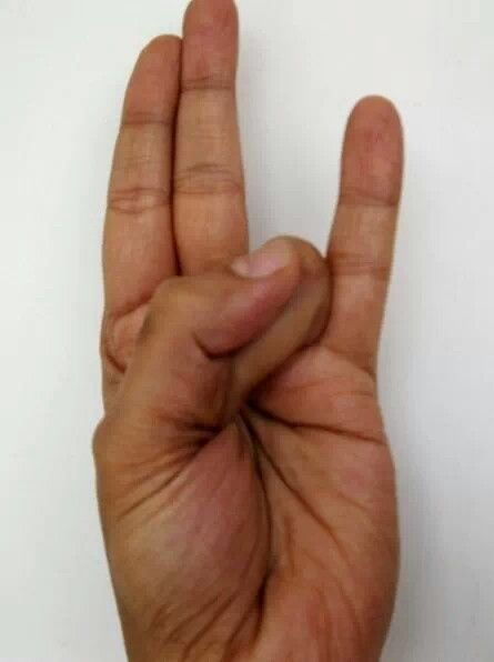 Excellent mudra for weight loss/cholestrol/eyes