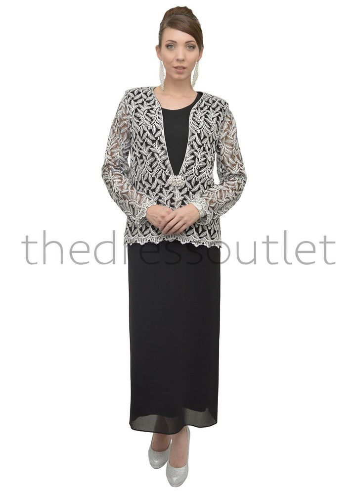 Jacket dresses formal plus size
