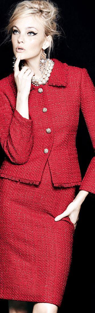 Clásico en rojo.                                                                                                                                                                                 Más