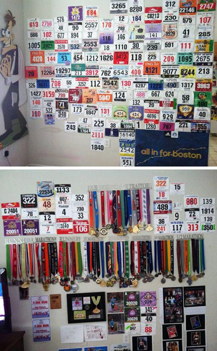 23 Cool Race Bib Collections | Runner's World