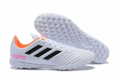 286605ee04d7 2018 FIFA World Cup Russia Adidas Predator Tango 18 4 Turf Soccer Mens Shoes  White Black Orange Pink Factory Outlet