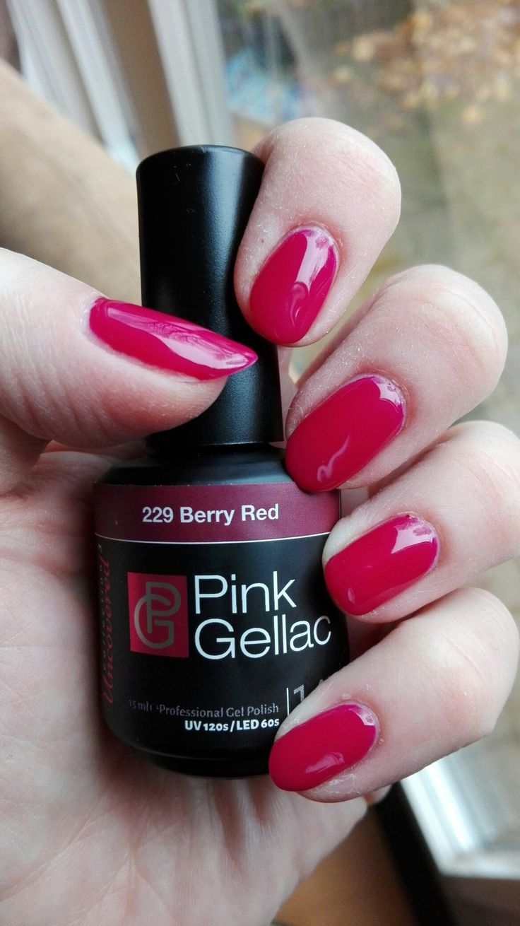 Pink gellac 229 berry red