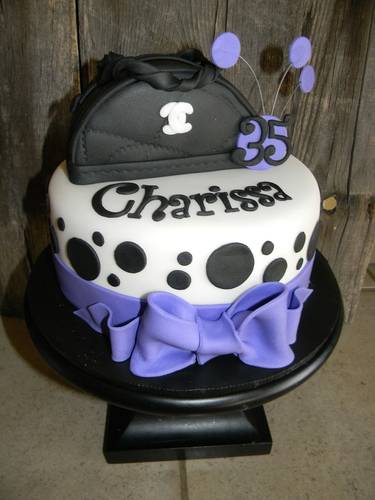 Best Riah Cake Ideas Images On Pinterest Purse Cakes Cake - Purse birthday cake ideas