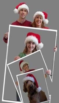 21 Ideen für lustige Weihnachtsfotokarten Bildideen