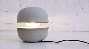 Lampada di cemento Fai da te http://www.lovediy.it/lampada-di-cemento-fai-da-te/ Una #lampadafaidate di cemento, degna di far parte degli oggetti di #design della vostra casa...