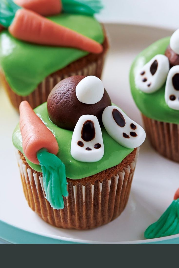 A really fun Easter take on the cupcake, these will delight children and adults alike.